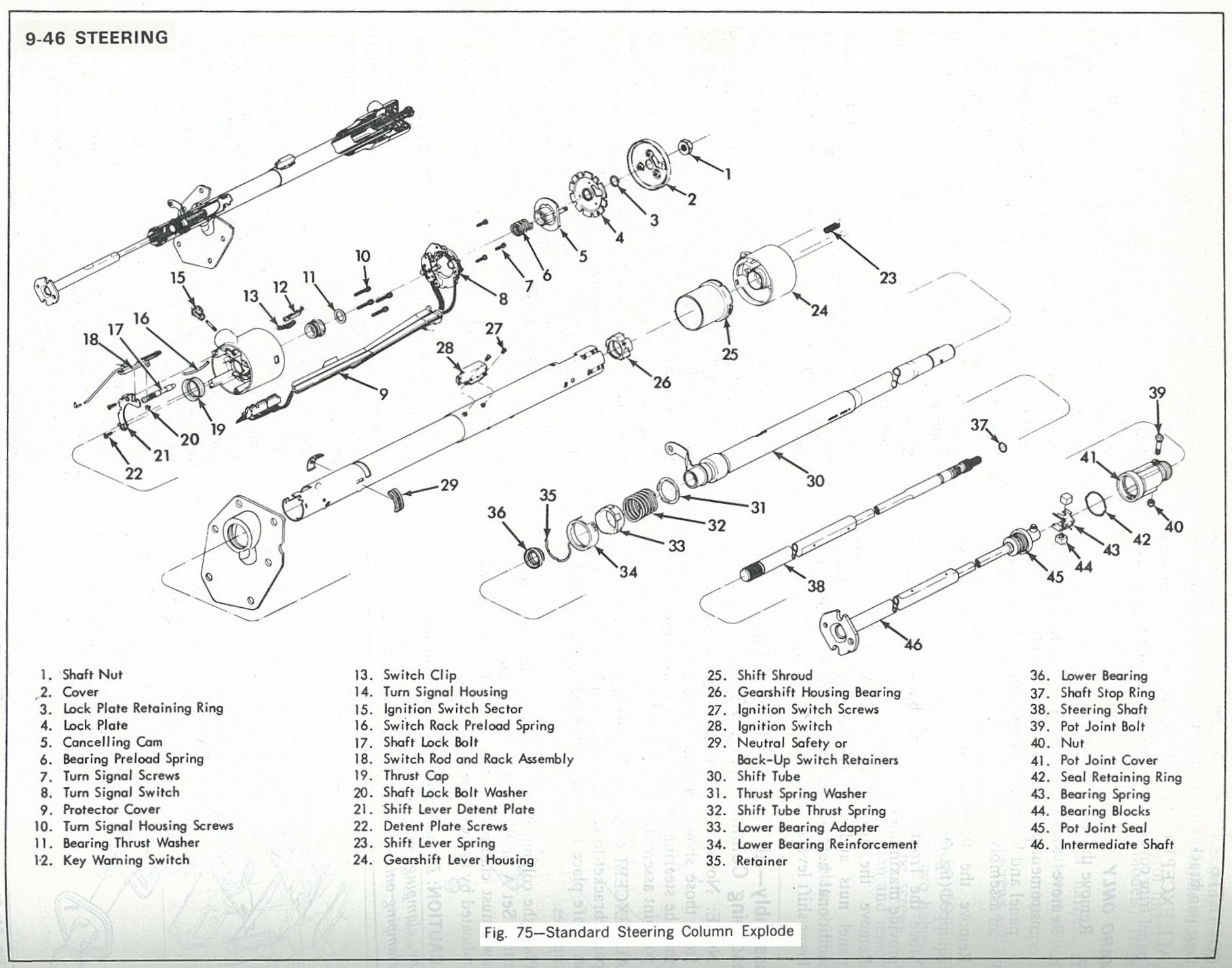 1973 chevy power steering diagram  1973  free engine image